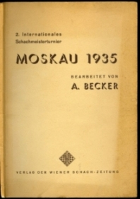2 Internationales Schachmeisterturnier Moskau 1935