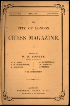 City of London Chess Magazine, The
