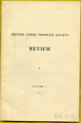 British Chess Problem Soceity Review