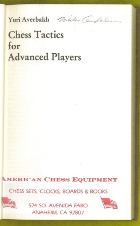 Chess Tactics for Advanced Players