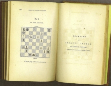 The Book of Chess: Containing the Rudiments of the Game and Elementary Analyses of the most Popular Openings Exemplified in Games Acutally Played by the Greatest Masters Including Staunton