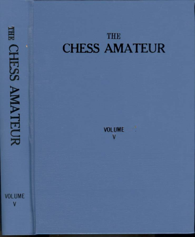 Chess Amateur, The